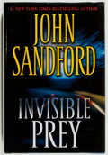 Books:Mystery & Detective Fiction, John Sandford. SIGNED. Invisible Prey. New York: G. P.Putnam's Sons, 2007. First edition. Signed by the autho...