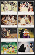 "Movie Posters:Animated, Snow White and the Seven Dwarfs (Buena Vista, R-1983). Lobby Card Set of 8 (11"" X 14""). Animated. ... (Total: 8 Items)"