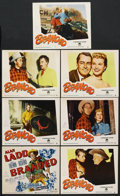 "Movie Posters:Western, Branded (Paramount, 1951). Title Lobby Card and Lobby Cards (6)(11"" X 14""). Western. ... (Total: 7 Items)"