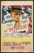"Movie Posters:Adventure, Intrigue (United Artists, 1947). Window Card (14"" X 22"").Adventure. ..."