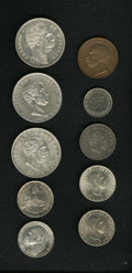 Italy, Italy: Italian type assortment:... (Total: 10 coins)