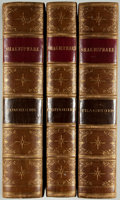 Books:Fine Bindings & Library Sets, William Shakespeare. The Complete Works of William Shakespeare, from the Original Text... New York: Martin, John... (Total: 3 Items)