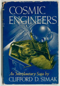 Books:Science Fiction & Fantasy, Clifford Simak. Cosmic Engineers. New York: Gnome Press, [1950]. First edition, first printing. Octavo. 224 page...