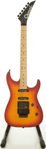Musical Instruments:Electric Guitars, Charvel Soloist Cherry Sunburst Solid Body Electric Guitar,#332210....
