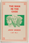 Books:Science Fiction & Fantasy, [Jerry Weist]. Jack Vance. SIGNED LIMITED EDITION. The Man in the Cage. San Francisco: Underwood-Miller, 1983. ...