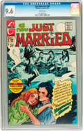 Bronze Age (1970-1979):Romance, Just Married #96 (Charlton, 1973) CGC NM+ 9.6 White pages....