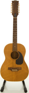 Musical Instruments:Acoustic Guitars, Circa 1968 Gibson LG-12 Natural 12-String Acoustic Guitar,#682900....