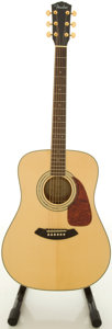 Musical Instruments:Acoustic Guitars, Recent Fender DG-100 NAT Natural Acoustic Guitar, #061226602....