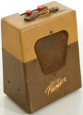 Musical Instruments:Amplifiers, PA, & Effects, Circa Late 1950's Premier Two-Tone Guitar Amplifier, #534363....