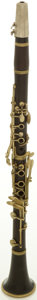 Musical Instruments:Horns & Wind Instruments, Circa 1959 Buffet R13 Clarinet, #59465....