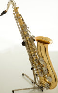 Musical Instruments:Horns & Wind Instruments, Jupiter CES-770 Brass Tenor Saxophone, #J15015....