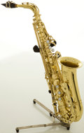 Musical Instruments:Horns & Wind Instruments, Yamaha YAS-52 Brass Alto Saxophone, #026659....