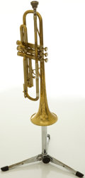 Musical Instruments:Horns & Wind Instruments, Circa 1950 The Martin Committee Brass Trumpet, #170638....