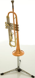 Musical Instruments:Horns & Wind Instruments, Circa 1961 Conn Shooting Star Trumpet, #858652....
