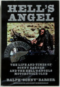 """Books:Biography & Memoir, Ralph """"Sonny"""" Barger with Keith and Kent Zimmerman. INSCRIBED.Hell's Angel. The Life and Times of Sonny Barger and the ..."""