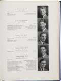 Autographs:U.S. Presidents, [George H. W. Bush]. Phillips Academy Yearbook for 1942....