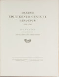 Books:Books about Books, [Bookbinding]. Danish Eighteenth Century Bindings 1730-1780. London: Milford, 1930. First edition, English issue...