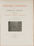 Books:Books about Books, [Bookbinding]. W. Salt Brassington. Historic Bindings in the Bodleian Library, Oxford. London: Sampson Low, Marston,...