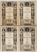 Books:Books about Books, [Rare Book Catalogs]. Catalogue of the Collection of the Late Bishop John F. Hurst. New York: Anderson Auction, 1904-1905. F... (Total: 4 Items)