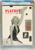 Magazines:Miscellaneous, Playboy #1 (HMH Publishing, 1953) CGC VF 8.0 Off-white to white pages....