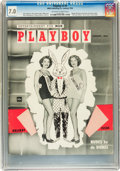 Magazines:Miscellaneous, Playboy #2 (HMH Publishing, 1954) CGC FN/VF 7.0 Off-white to whitepages....