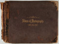 Books:Photography, [Photography]. [Abel Briquet] Photo Album with Photos of Mexico.[N.p., n.d., ca. 1890]. Twenty-two photos, many of which ha...