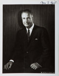 Books:Americana & American History, Spiro T. Agnew (American Politician, 1918-1996, Vice President ofthe United States, 1969-1973). Signed Photo. [N.p.], 1968....