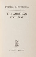 Books:Americana & American History, Winston S. Churchill. The American Civil War. London:Cassell, [1961]. First separate edition. Custom full red moroc...