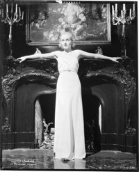 "Carole Lombard (Paramount, Early 1930s). Eastman Kodak Nitrate Negative (7.75"" X 9.75""). Miscellaneous"