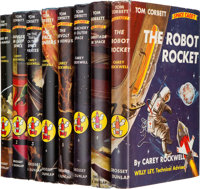 Carey Rockwell: Complete Set of Eight Tom Corbett: Space Cadet First Editions. New Y