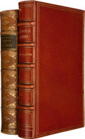 Books:Literature Pre-1900, Charles Dickens. The Posthumous Papers of the Pickwick Club.London: Chapman and Hall, 1837. First edition, mixed st... (Total:2 Items)