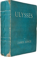 Books:Literature 1900-up, James Joyce. Ulysses. Paris: Shakespeare and Company, 1922.First edition, number 513 of 750 numbered copies printed...