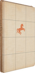 Books:Literature 1900-up, John Steinbeck. The Red Pony. New York: Covici - FriedePublishers, 1937. Limited edition, number 357 of 699 l...