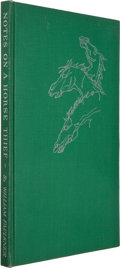 Books:Literature 1900-up, William Faulkner. Notes on a Horse Thief. Greenville,Mississippi: Levee Press, 1950. First edition, one of 975 co...