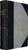 Books:Children's Books, James M. Barrie. Tommy and Grizel. London: Cassell andCompany, 1900. First edition. Signed by the author on the ...