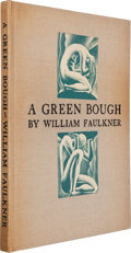 Books:Literature 1900-up, William Faulkner. A Green Bough. NY: Smith Haas, 1933.Limited edition, one of 360 copies signed....