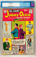Silver Age (1956-1969):Superhero, 80 Page Giant #13 Jimmy Olsen (DC, 1965) CGC VF+ 8.5 Off-white to white pages....