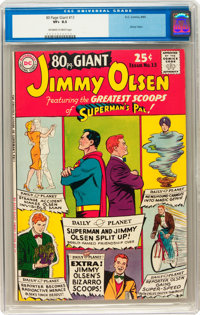 80 Page Giant #13 Jimmy Olsen (DC, 1965) CGC VF+ 8.5 Off-white to white pages