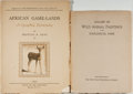 Books:Natural History Books & Prints, Two Illustrated Wildlife Books from 1930, including: Gallery of Wild Animal Paintings in the Zoological Park. New Yo... (Total: 2 Items)