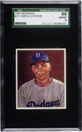 Baseball Cards:Singles (1950-1959), 1950 Bowman Pee Wee Reese #21 SGC 88 NM/MT 8 - Pop Two, FourHigher....