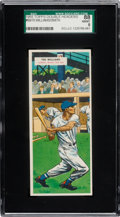 Baseball Cards:Singles (1950-1959), 1955 Topps Double Headers Williams/Smith #69-70 SGC 88 NM/MT 8....