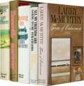 Books:Literature 1900-up, Larry McMurtry. Group of Five First Editions, including: MovingOn. [1970]. 794 pages. Soft bumping to upper corners... (Total:5 Items)