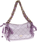 Luxury Accessories:Bags, Moschino Small Quilted Metallic Leather Bag. ... (Total: 2 Items)