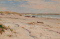 Fine Art - Painting, American:Antique  (Pre 1900), FREDERICK PORTER VINTON (American, 1846-1911). Beach Scene,1898. Oil on panel. 6 x 9-1/2 inches (15.2 x 24.1 cm). Signe...