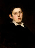 Fine Art - Painting, American:Antique  (Pre 1900), FREDERICK PORTER VINTON (American, 1846-1911). Portrait of aBoy. Oil on canvas. 24 x 18 inches (61.0 x 45.7 cm). Signed...