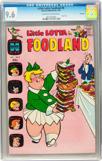 Little Lotta Foodland #8 File Copy (Harvey, 1965) CGC NM+ 9.6 Off-white to white pages