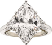 Diamond, Platinum Ring