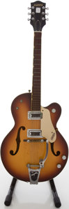 Musical Instruments:Electric Guitars, Circa 1966 Gretsch Double Anniversary Sunburst Semi-Hollow BodyElectric Guitar, #106457....
