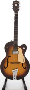 Musical Instruments:Electric Guitars, 1958 Gretsch Anniversary Sunburst Archtop Electric Guitar,#29101....