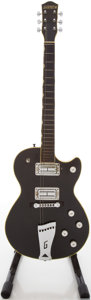 Musical Instruments:Electric Guitars, Circa 1972 Gretsch Roc Jet Black Solid Body Electric Guitar, #327191A....